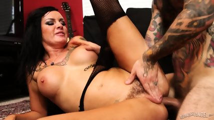 Anal Action With Inked Bitch