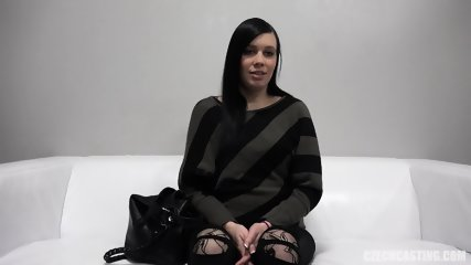 Pregnant Babe At The Casting - scene 6