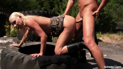 Pissing On The Range - scene 10
