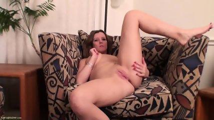 Pussy Stimulation On Armchair