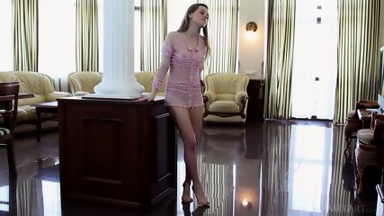 Lovely Girl Presents Her Body - scene 1