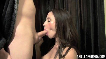 Busty Babe Sucks Dick - scene 3