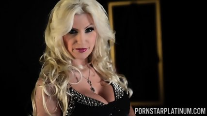 Kinky Busty Whore Plays With Toy - scene 1