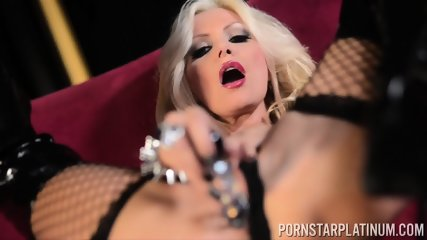 Kinky Busty Whore Plays With Toy - scene 7