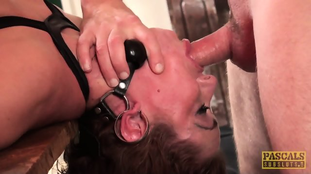 Slave Fucked In Face And Cunt