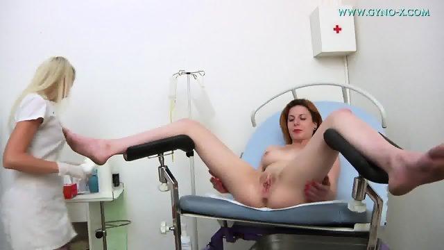 Redhead Needs Sexy Doctor's Help