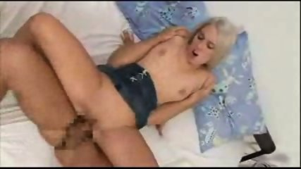 Blonde Gets Filled with Japanese Sperm - scene 11