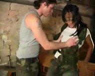 Horny Guerilla Baby - scene 1