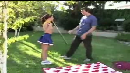 randy redhead cheerleader gets fucked - scene 2
