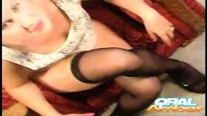 Oral Amber - Nylon Drool - scene 10