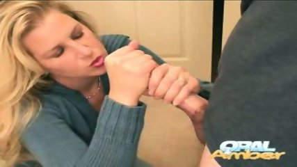 Oral Amber - Handy work - scene 10