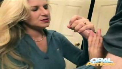 Oral Amber - Handy work - scene 6