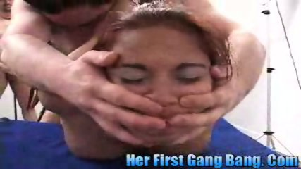 Gaya Patal in Her first gang bang - scene 11