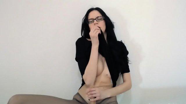 Super beautiful strapon dildo erotic movie