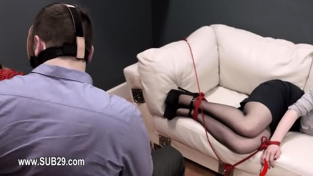BDSM sex in analland with slut banged extremely