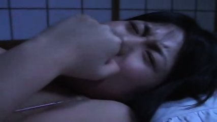 Rin Aoki fucks behind sleeping husband - scene 3