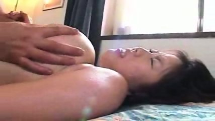 Rin Aoki fucks behind sleeping husband - scene 5