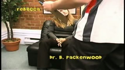 Rebecca and her big tits go to the doctor - scene 3