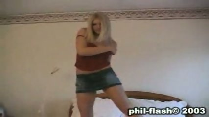 Infamous Tiffany Teen Strip Tease Video - scene 1