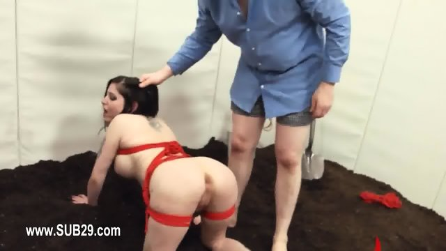 Extreme BDSM analhole action in gangbang