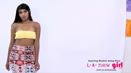 BLACK SUPERMODEL FUCKED IN THE ASS AT PHOTOSHOOT - scene 2