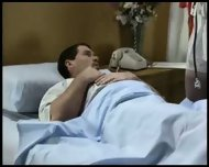Nurse takes a semen sample - scene 2