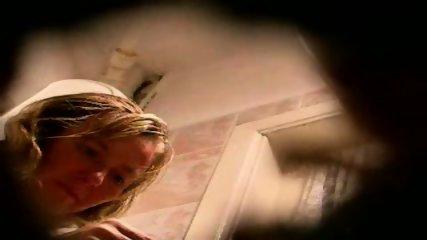 hidden spycam amateur milf washing pussy - scene 2