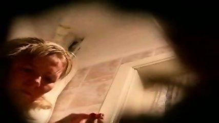 hidden spycam amateur milf washing pussy - scene 4