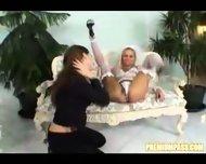 A newlywed lesbian couple - scene 1