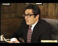 on the principals desk - scene 1