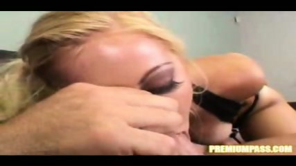 Holli Stevens lays back and starts to rub her body