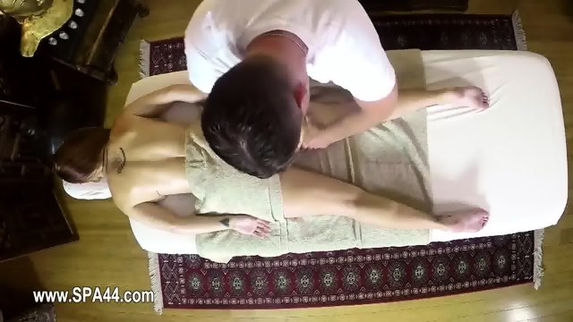 Secret masturbation and copulate in special tricky spa