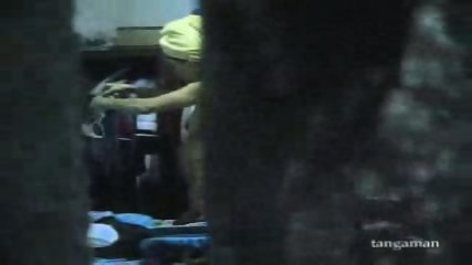 Hidden cam gets teen changing clothes - scene 11