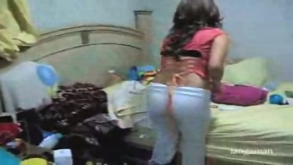 Hidden cam gets teen changing clothes - scene 3