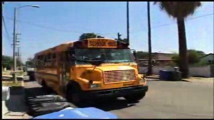 Schoolbus girl - Drew - scene 1