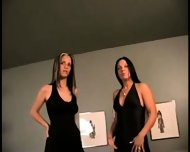 Pamela gives Judy her first lesbian experience - scene 3