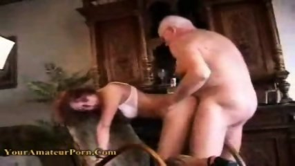 OldFart Lucky guy fucking a Young girl - scene 9