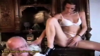 OldFart Lucky guy fucking a Young girl - scene 2