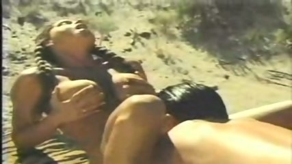 Busty Heather fucked in the desert - scene 4