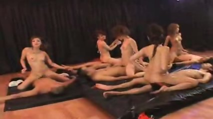 Japanese Reggae Dancer Group Orgy - scene 10