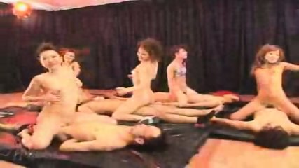 Japanese Reggae Dancer Group Orgy - scene 11