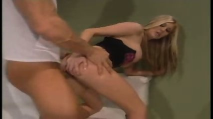 Blondi gets fucked in bathroom - scene 10