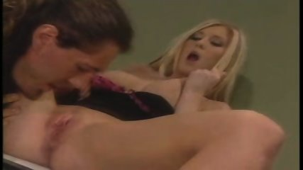 Blondi gets fucked in bathroom - scene 6