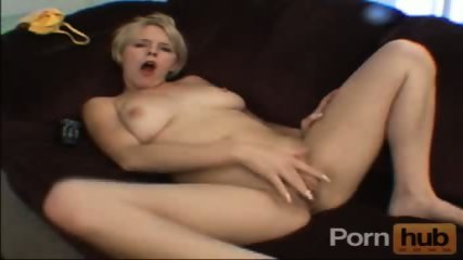 Pussy rubb on hte couch - scene 5