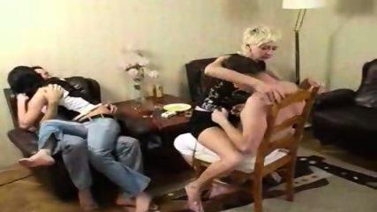 2 Drunk russian couples - scene 1
