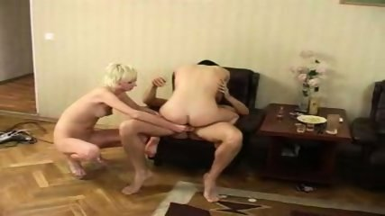 2 Drunk russian couples