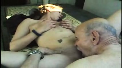 18 yo girl fucks 78 yo fart! - scene 8