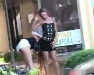 2 lesbian in public - scene 1