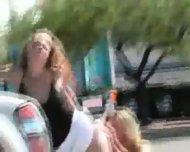 2 lesbian in public - scene 12