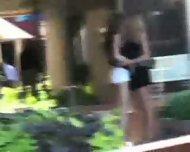 2 lesbian in public - scene 2